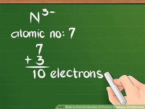 The Total Number Of Protons And Neutrons In The Nucleus by How To Find The Number Of Protons Neutrons And Electrons