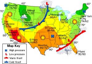 california weather map today mr gantt s earth science lab 5th grade week 6