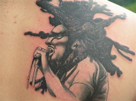 bob marley side view inkaholics edgewood md tattoo picture
