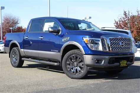 2017 Nissan Titan Platinum Reserve Truck Crew Cab In