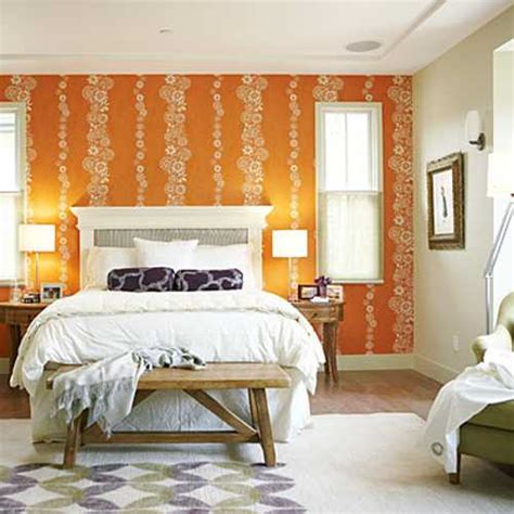 orange bedroom decorating ideas adding orange colors to bedroom decorating ideas in fall