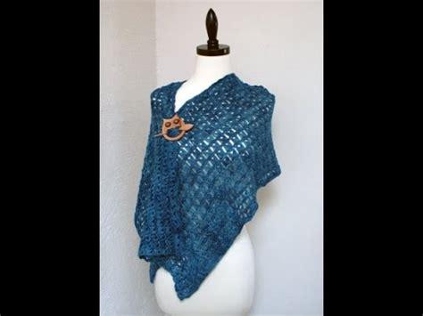 shawl pattern youtube broomstick lace crochet shawl free pattern workshop youtube