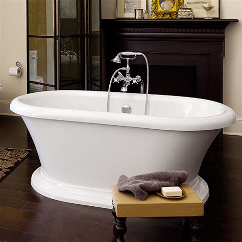Soaking Bathtub by Soaking Tubs St George Freestanding Soaker Tub From Dxv