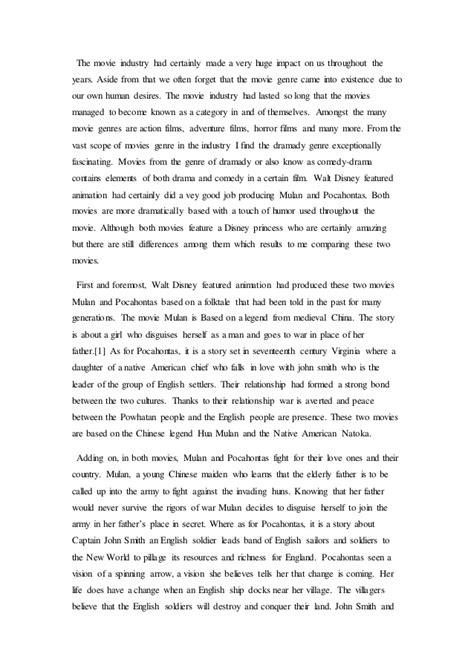 Mulan Essay by Mulan Essay Ideas