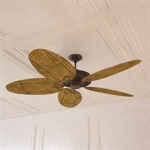 Wicker Ceiling Fans by Rattan Ceiling Fan Max