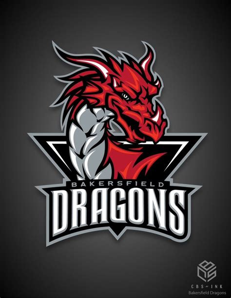 design a esports logo this is the bakersfield dragons new logo a junior hockey