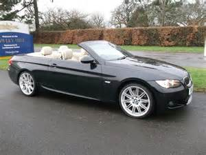 Used Bmw Convertible Used Bmw 3 Series 2009 Black Paint Petrol 335i M Sport