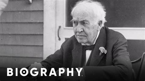 edison biography movie thomas edison mini biography youtube