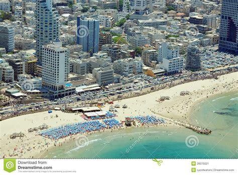 What Is A Mediterranean Style Home - aerial view of tel aviv beach editorial photo image 26075021
