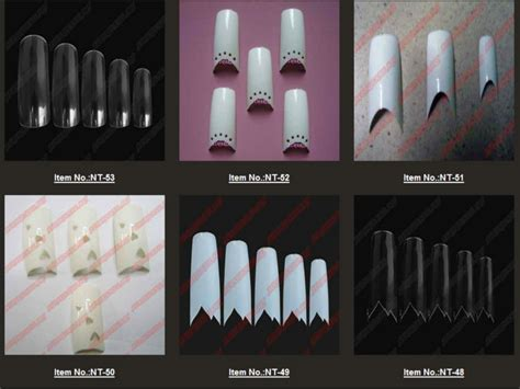 500pcs Clear Nails Half Tips Nail Extension Alibaba Manufacturer Directory Suppliers Manufacturers