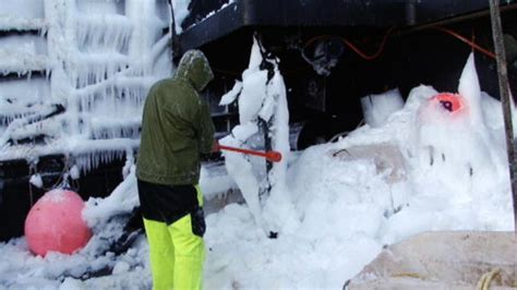 deadliest catch season 11 returns on discovery pop tower beating the ice deadliest catch discovery
