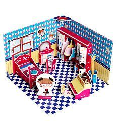 Papercraft Mini Rex paper doll house paper dolls and doll houses on