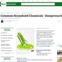 dangerous household chemicals 0018 understand concepts related to scientific knowledge