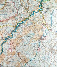 trail map of brasstown bald chattooga river