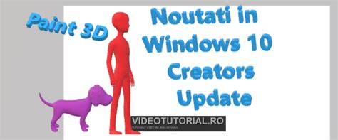 windows 10 video tutorial ro ce e nou 238 n windows 10 creators update un fel de windows 11