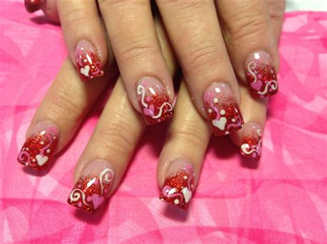 pictures of nail designs for valentines day s day nail fashion belief