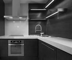 black kitchen cabinets white countertops