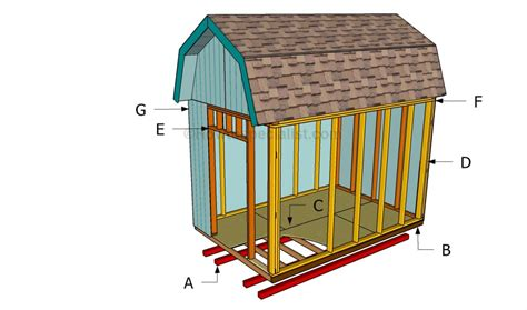 how to build a barn how to build a barn shed howtospecialist how to build