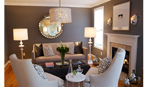 living room decor ideas glamorous chic in grey and pink color copy cat chic copy cat chic room redo glamorous grey
