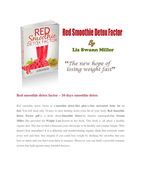 Smoothie Detox Factor Recipes by Smoothie Detox Factor By Smoothi Detox Factor Issuu