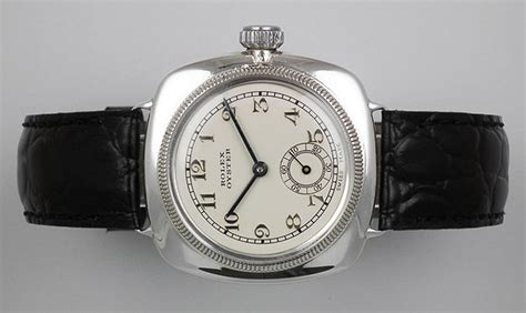 Rolex Detik Bawah White Silver Cover Black rolex solid silver oyster cushion white c1928