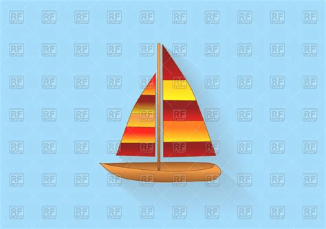 sailboat vector icon sailboat icon royalty free vector clip art image 111557