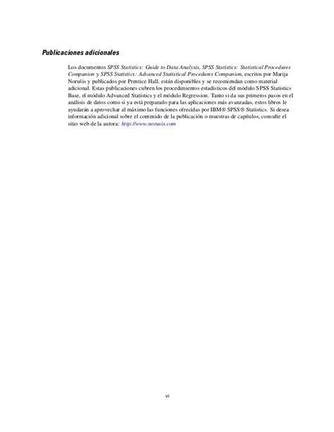 manual spss español pdf manual spss19 en espa 227 177 ol