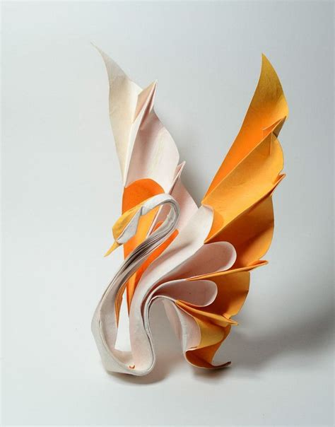 Fold Paper Swan - best 25 origami swan ideas on paper swan