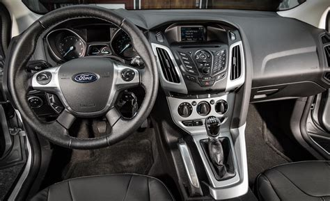 Ford Focus 2014 Interior car and driver