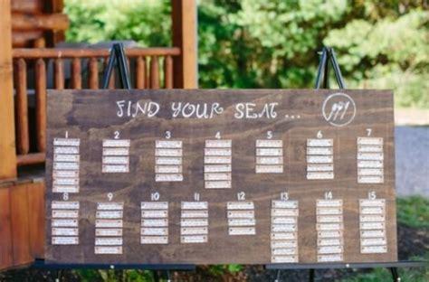 wedding seating plan design ideas 107 original wedding seating chart ideas happywedd