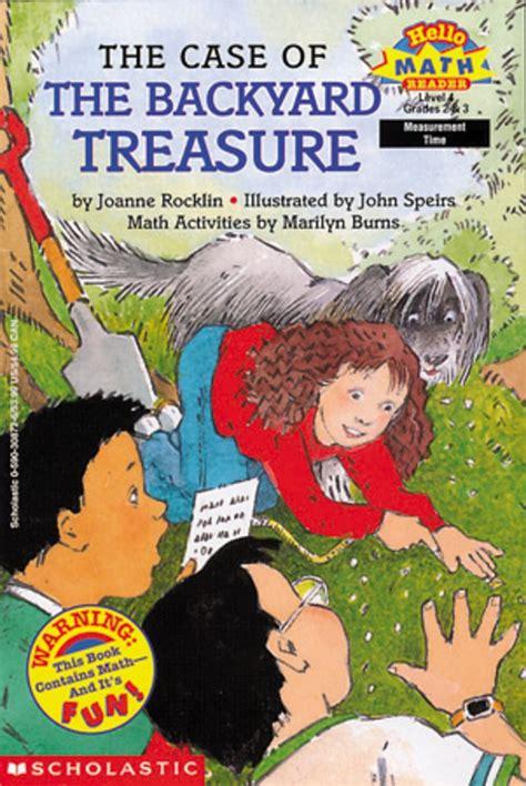 Backyard Book Fair by The Of The Backyard Treasure By Joanne Rocklin