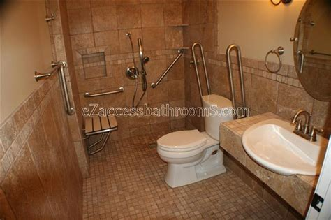 handicap accessible bathroom design how to design elevation for wheelchair r at home