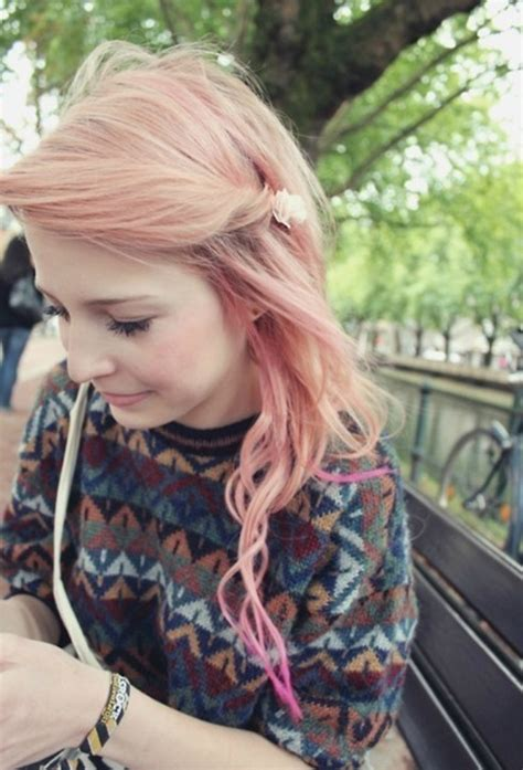 cute ombre hairstyles for girls long hair with side