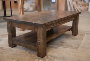 rustic coffee table farmhouse coffee table rustic coffee table solid wood
