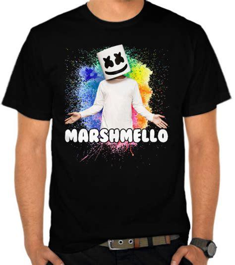Kaos Marshmello 5 jual kaos dj marshmello 9 disc jockey dj satubaju