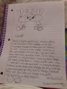 cute love letter i wrote this for my boyfriend then he