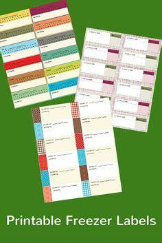 printable freezer labels get organized on pinterest how to organize file folder