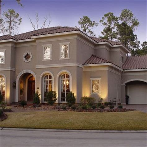 mediterranean colors for house houston home exterior design ideas pictures remodel and decor