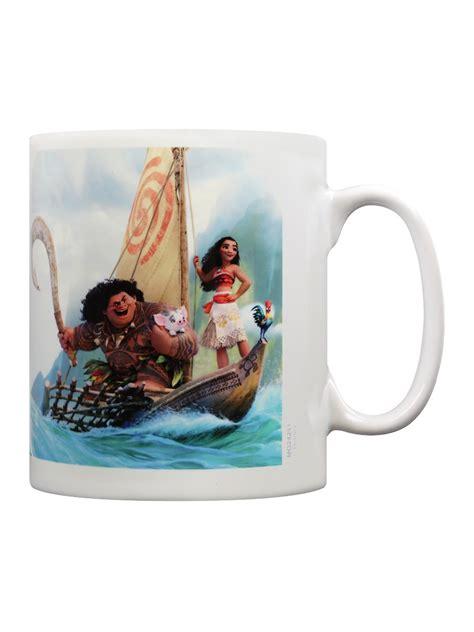 moana boat uk disney moana boat white mug ebay