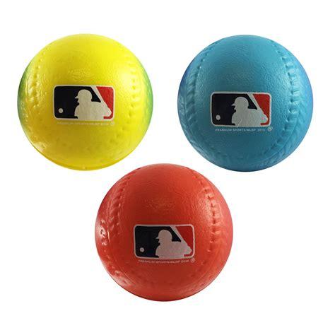 franklin sports team mlb 3pack foam baseballs