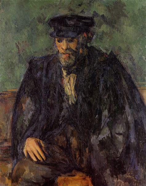Paul The Gardener by Portrait Of The Gardener Vallier C 1906 Paul Cezanne
