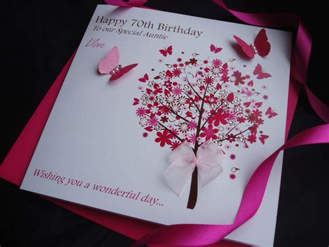 Handmade 60th Birthday Card Ideas - handmade birthday card 30th 40th 50th 60th 70th 80th ebay