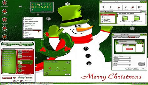 themes christmas windows 7 windows 7 christmas desktop themes best free hd wallpaper
