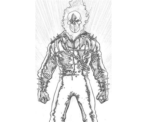 ghost rider coloring pages online ghost rider coloring pages to download and print for free