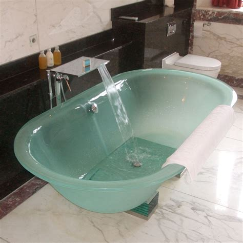 bathtub with glass glass bathtub home design
