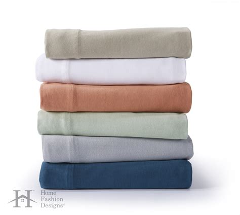 jersey knit sheets zimmer collection soft jersey knit sheet set in