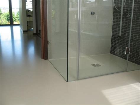 Resin Bathroom Floor by Poured Resin Floor Home Resins Floors And
