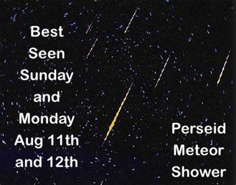 Best Time For Meteor Shower Tonight by Puxico Homecoming Events