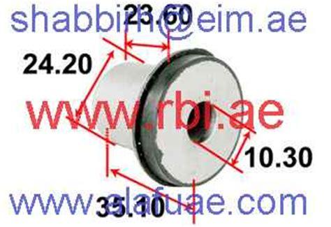 Link Arm Serena C24 rbi rubber parts al lamsa al fiddiya trading l l c