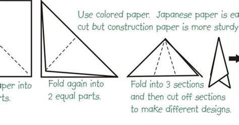 How To Make A Paper Parol - how to make a parol snowflake parol